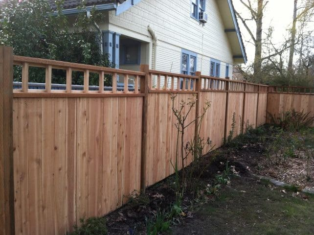 privacy fence panels