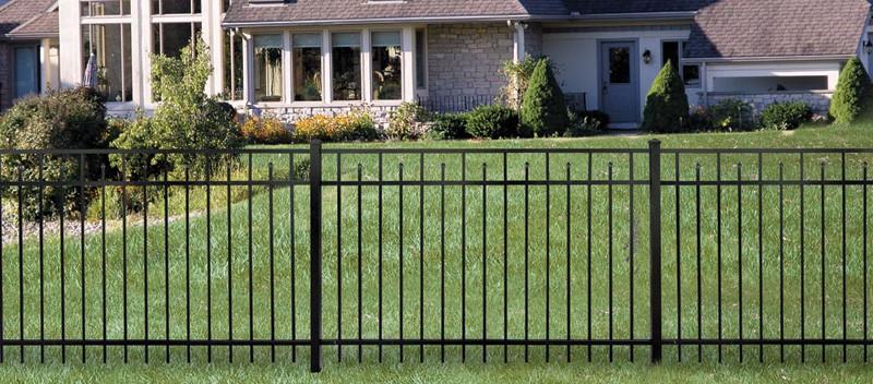 ornamental steel fence